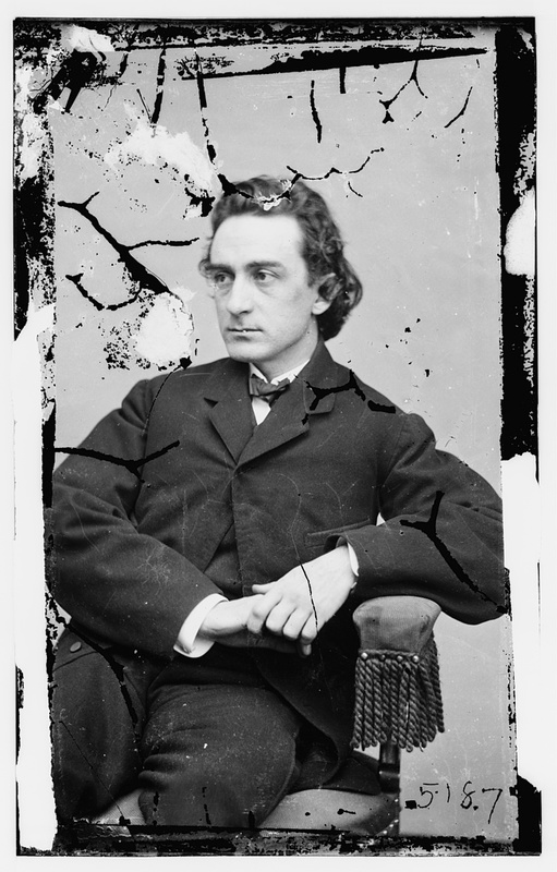 Portrait Photograph of Edwin Booth