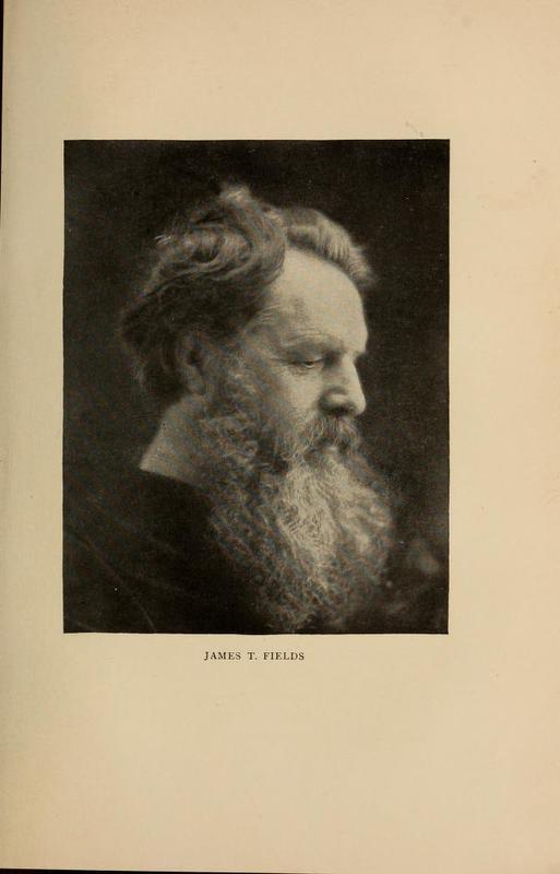 Portrait photography of James Thomas Fields