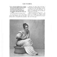 """""""Fair Women,"""" <em>Godey's Lady's Book</em>, Dec 1894 to May 1895"""