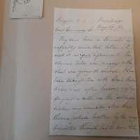 Letter from Anne Brewster to Mary Howell, May 29, 1864