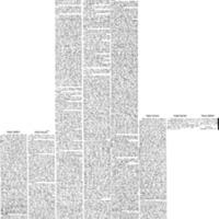 """Table Gossip,"" <em>Boston Daily Globe</em>, Dec 17, 1873 to Dec 25, 1927"