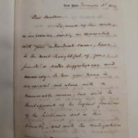Letter from Henry Alden to Charlotte Cushman, Nov 3, 1874