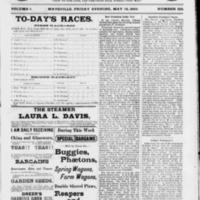 """Charlotte Cushman's Grave,"" <em>Evening Bulletin</em>, May 19, 1882"
