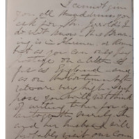 Letter from Grace Greenwood to Mr. Welles, Dec 30, 1859