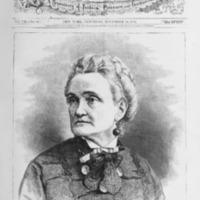 """""""Charlotte Cushman,"""" <em>Harper's Bazar</em>, Nov 14, 1874"""