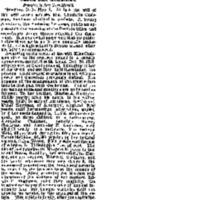 """Charlotte Cushman's Will,"" <em>Chicago Daily Tribune</em>, May 5, 1876"