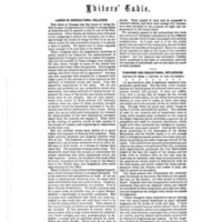 """Editors' Table,"" <em>Godey's Lady's Book</em>, <span>Jan 1840 to Dec 1877</span>"