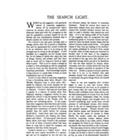 """""""The Search Light,"""" <em>Godey's Lady's Book</em><span>, [</span><span>Oct] 1892 to Jan 1894</span>"""