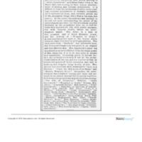 """Character Entertainment at Music Hall,"" <em>Boston Globe</em>, Feb 25, 1875"