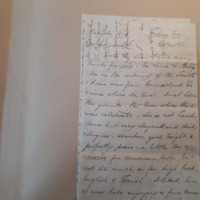 Letter from Anne Brewster to Mary Howell, July 8, 1864