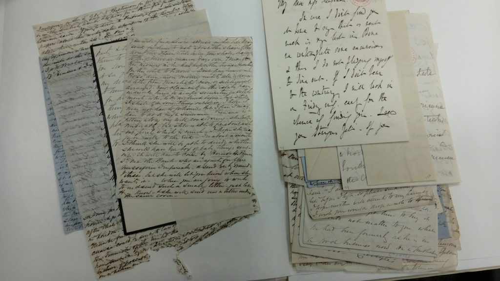 Loose Letters from Charlotte Cushman Papers